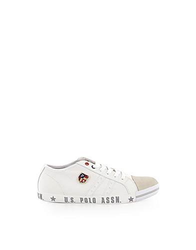 TRAINERS - U.S. POLO ASSN. / BROCK CANVAS SNEAKER - NELLY.COM