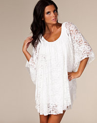 Reverse - Lace Cape Dress