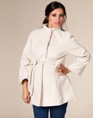 Cashmere Coat White