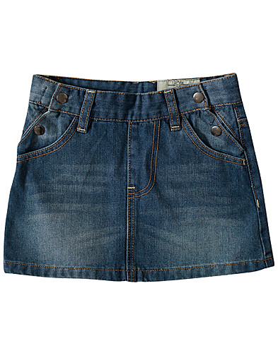 NEDERDELE - LITTLE HOUSE OF COMMONS / ELVIRA DENIM SKIRT - NELLY.COM