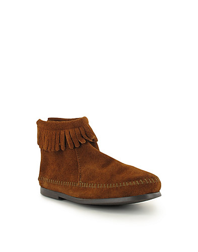 VARDAGSSKOR - MINNETONKA KIDS / BACK ZIPPER BOOT - NELLY.COM