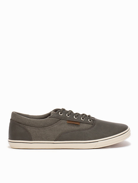 mens fashion shoes trainers jack jones jjvision mixed sneaker pewter. Black Bedroom Furniture Sets. Home Design Ideas