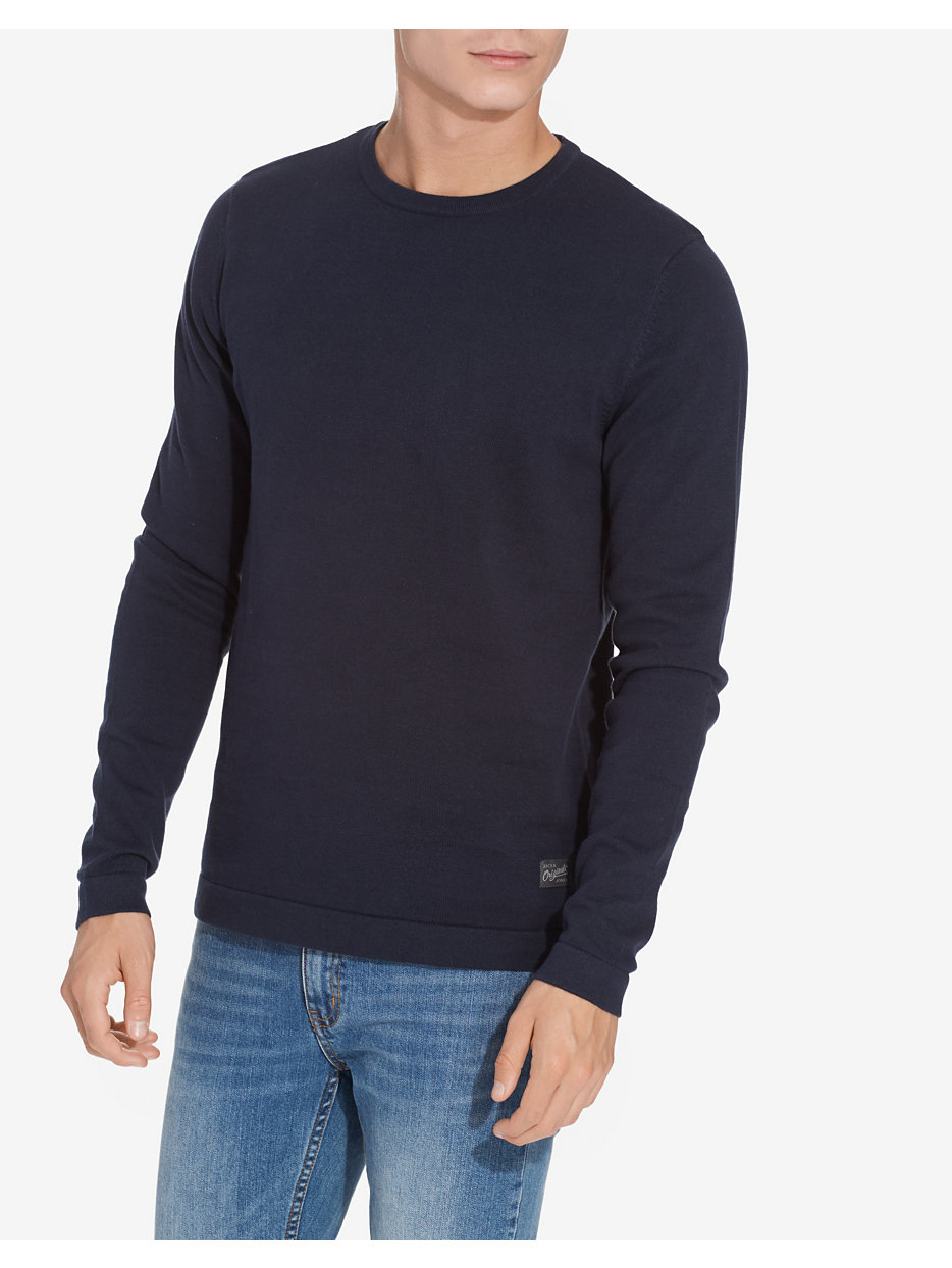 JORBASIC KNIT CREW NECK NOOS
