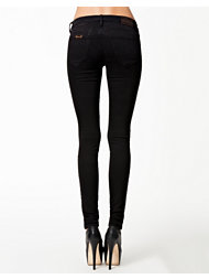 Fornarina Eva Black Stretch Denim Pant