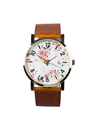 NLY Accessories Retro Flower Watch
