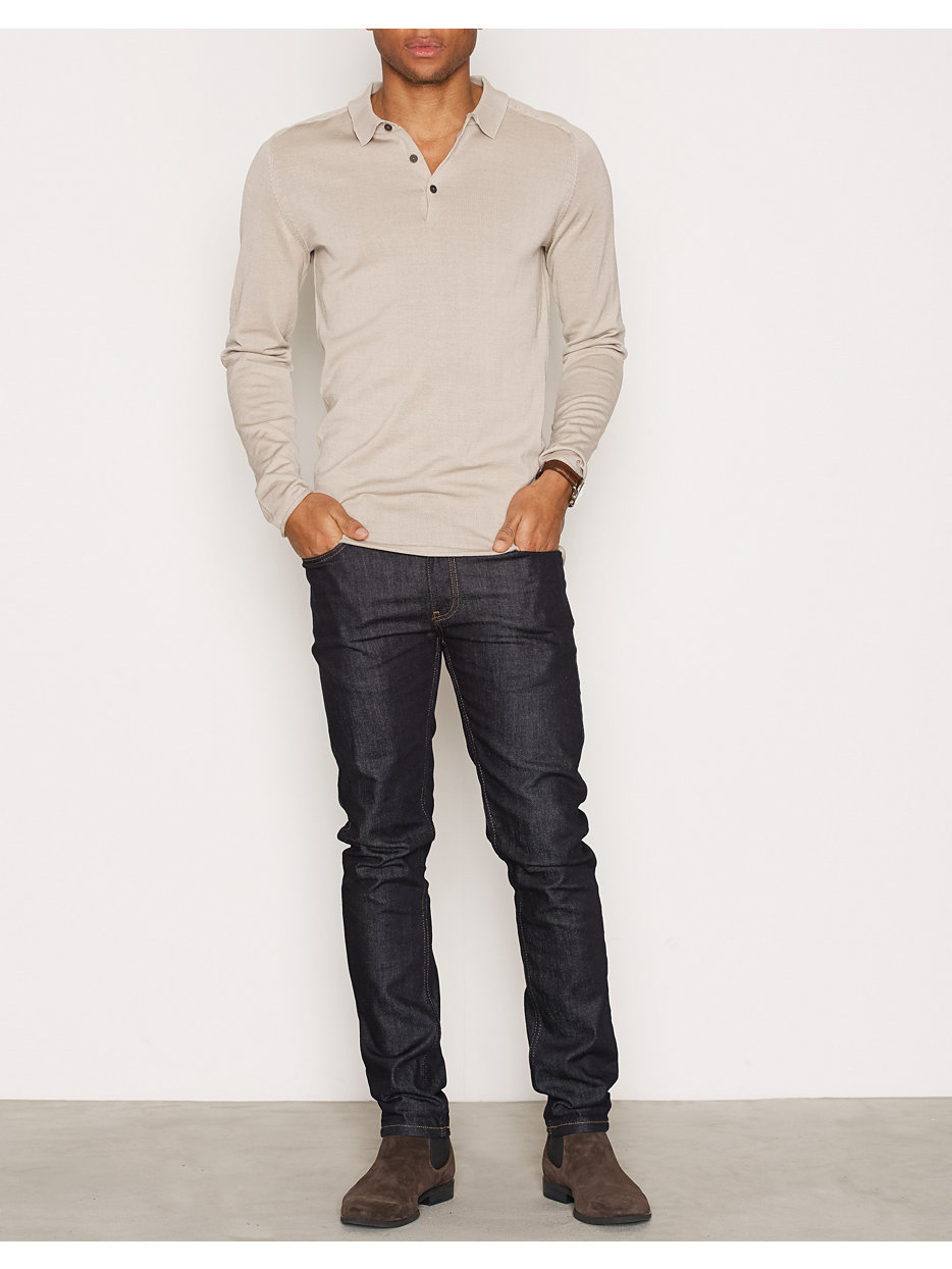 SHDPORTER KNITTED POLO