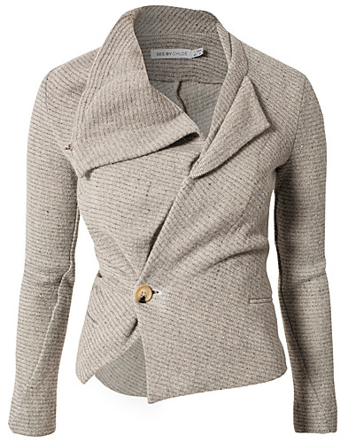 JUMPERS & CARDIGANS - SEE BY CHLOÉ / ELEONORA KNITTED JACKET - NELLY.COM