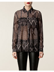 Matthew Williamson Pleated Panel Blouse
