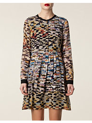Matthew Williamson Pleated Shirt Dress