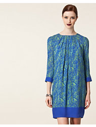Matthew Williamson Pleated Shift Dress