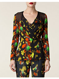 Matthew Williamson Drape Bust Top
