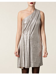 Matthew Williamson One Shoulder Drape Dress