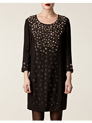 Matthew Williamson Loose Panelled Shift Dres