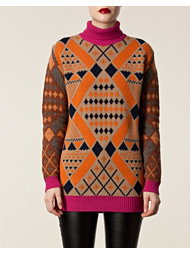 Matthew Williamson Maxi Rollneck Sweater