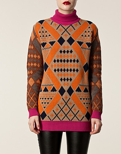 JUMPERS & CARDIGANS - MATTHEW WILLIAMSON / MAXI ROLLNECK SWEATER - NELLY.COM