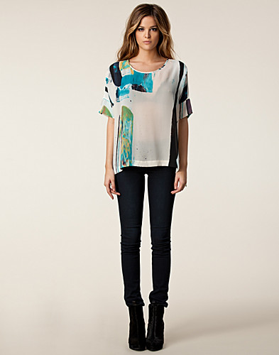 TOPPAR - TIGER OF SWEDEN / ROWLAND SHIRT - NELLY.COM