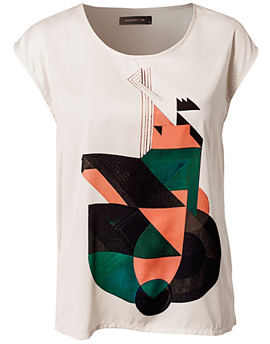 TOPPAR - MODSTRÖM / FRANZ GRAPHIC TOP - NELLY.COM