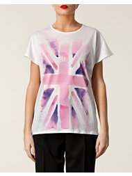 Moschino Cheap & Chic Flag T-Shirt