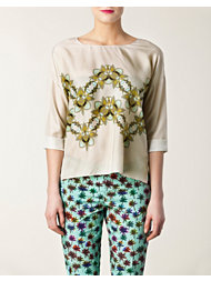 Schumacher Graphic Lily Blouse