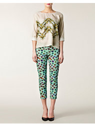 Schumacher Psychedelic Palms Pants