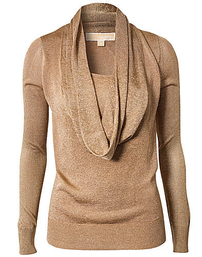 JUMPERS & CARDIGANS - MICHAEL MICHAEL KORS / CROWL NECK PULLOVER - NELLY.COM