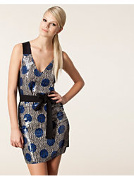 Sonia by Sonia Rykiel Printed Sequin Dress