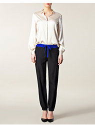 Sonia by Sonia Rykiel Draw String Silk Pant