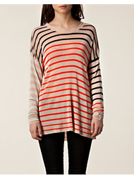 Sonia by Sonia Rykiel Multicolor Striped Sweater