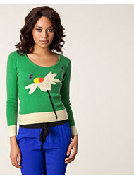 Sonia by Sonia Rykiel Flower Sweater