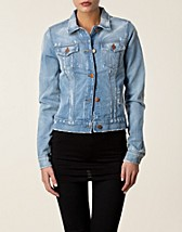 SLIM FITTED DENIM JACKET