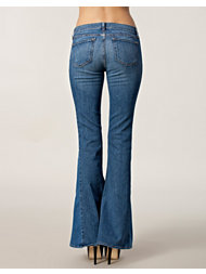 J Brand Chrissy Pieced Denim Flare