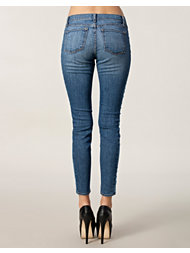 J Brand 830 Pieced Denim Skinny
