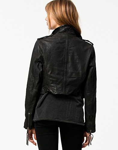 JACKETS AND COATS - ROCK'N BLUE / LOTTIE BIKER JACKET - NELLY.COM