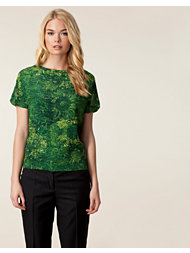 Whyred Bernadine Flower Etching Top