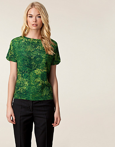 TOPS - WHYRED / BERNADINE FLOWER ETCHING TOP - NELLY.COM