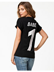 Brashy Couture Babe 1 Black Tee