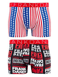 Frank Dandy 2-Pack Old Glory Logo