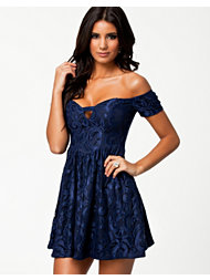Ginger Fizz Lace Skater Dress