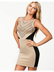 Aura Boutique Embellishment Scuba Dress