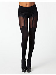Pretty Polly Super Suspender Tights