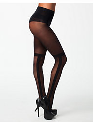 Pretty Polly Stripe Otk Tights