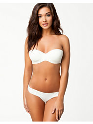 Implicite Nude Bandeau Thong Set