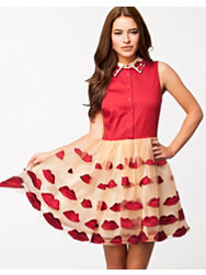 Alice & Olivia Pouf Dress