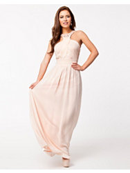 Little Mistress Wrap Front Maxi Dress
