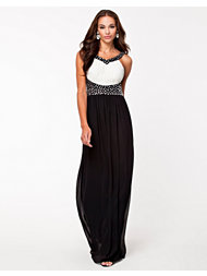 Little Mistress Contrast Maxi Dress Nelly Exclusive