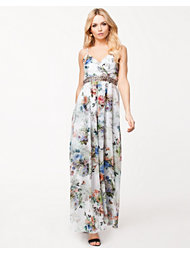 Little Mistress Floral Maxi Dress