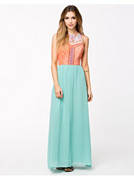 Aura Boutique Embellished Maxi Dress