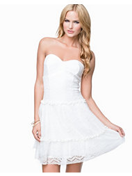 Aura Boutique Lace Babydoll Dress