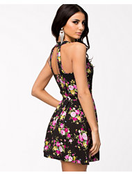 Ax Paris Floral Button Dress