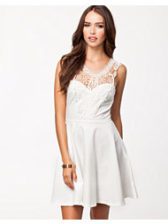 Ax Paris Sweetheart Crochet Dress